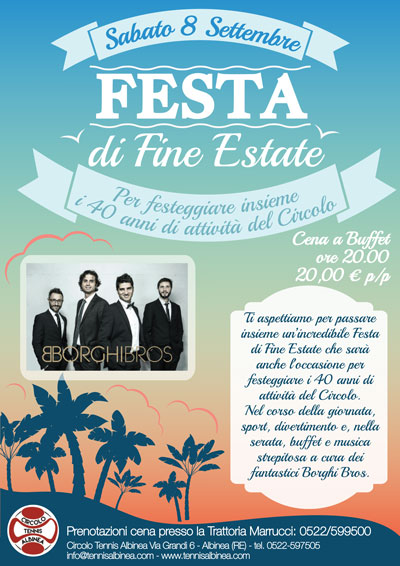 festa di fine estate 2018 small