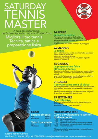 saturday master tennis