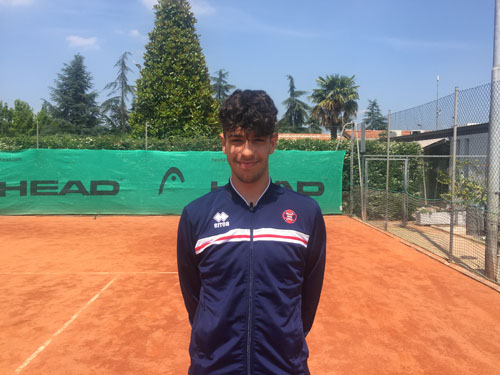 Francesco Simonetti 16 anni Ranking ATP NR Classifica 3